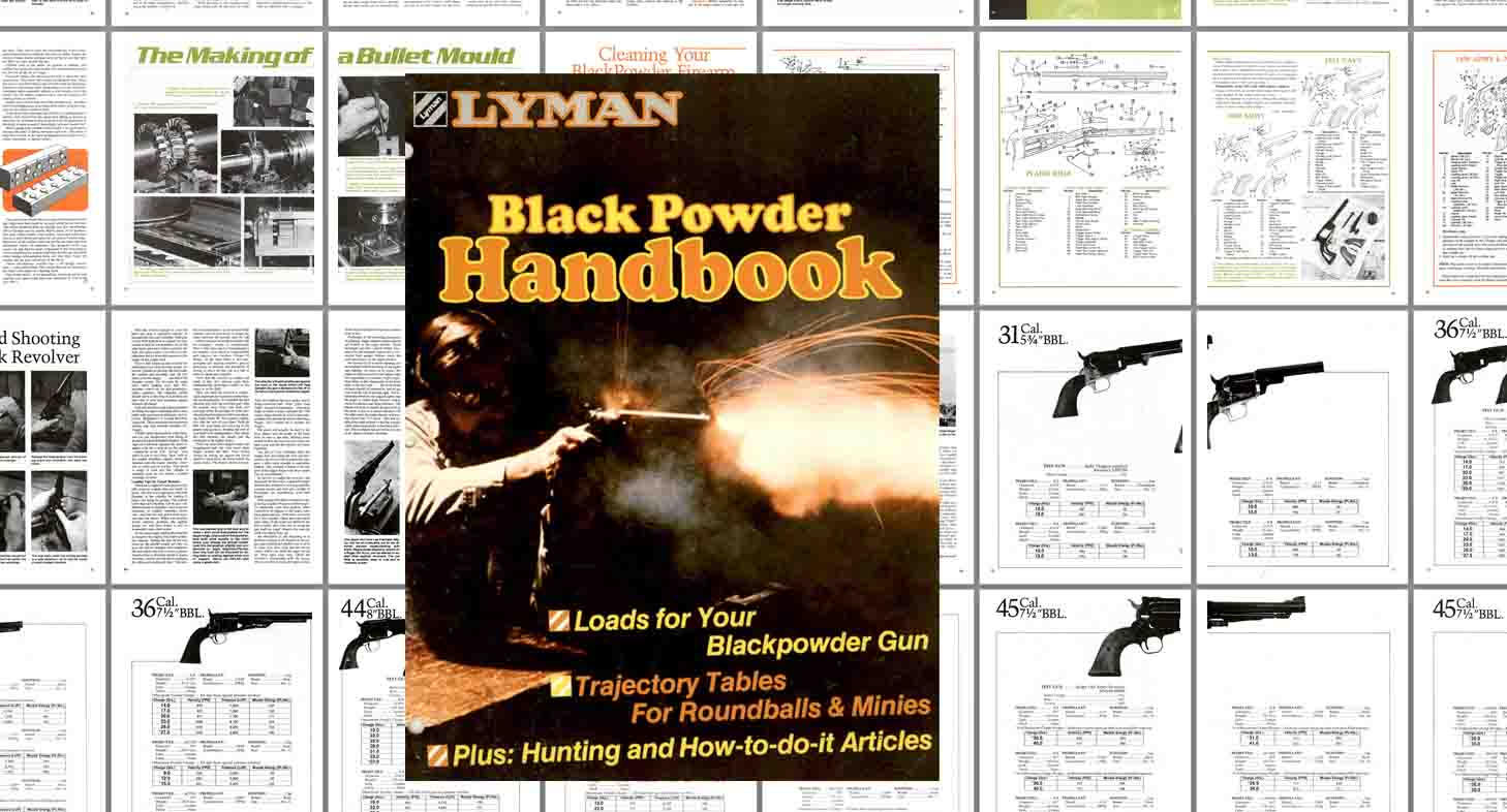 Lyman 1975 Black Powder Handbook