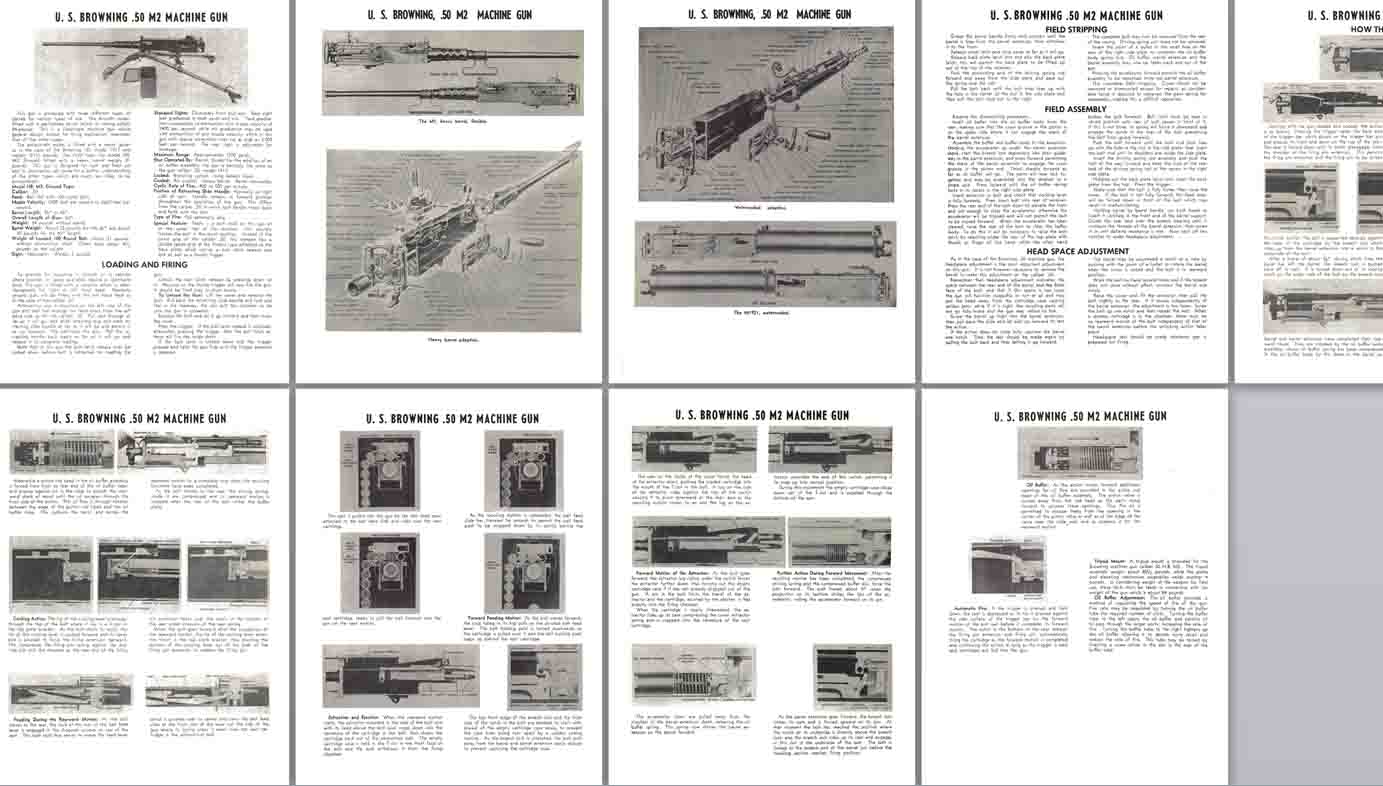Browning .50 M2 Machine Gun Manual