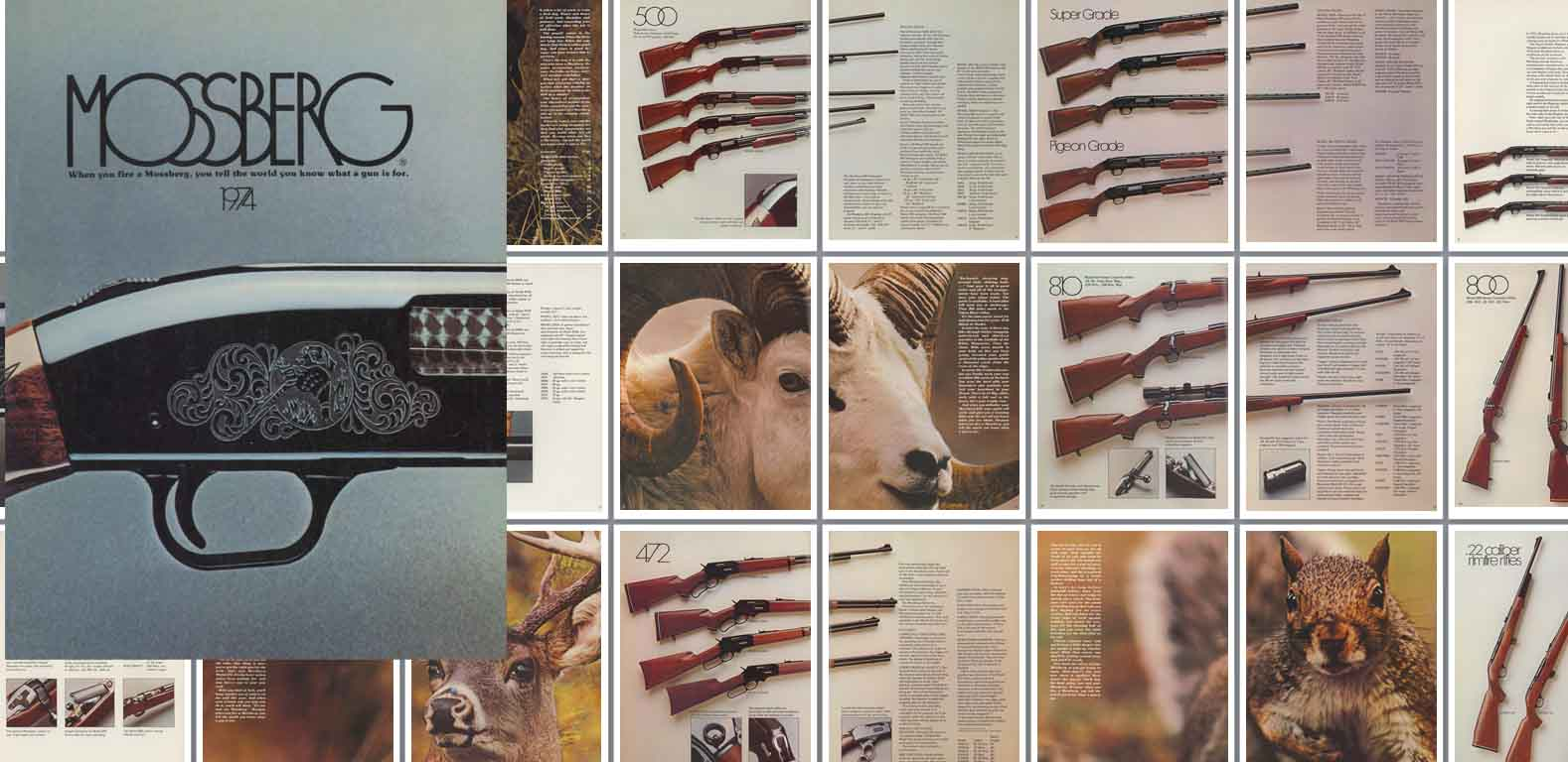 Mossberg 1974 Gun Catalog- Long Version