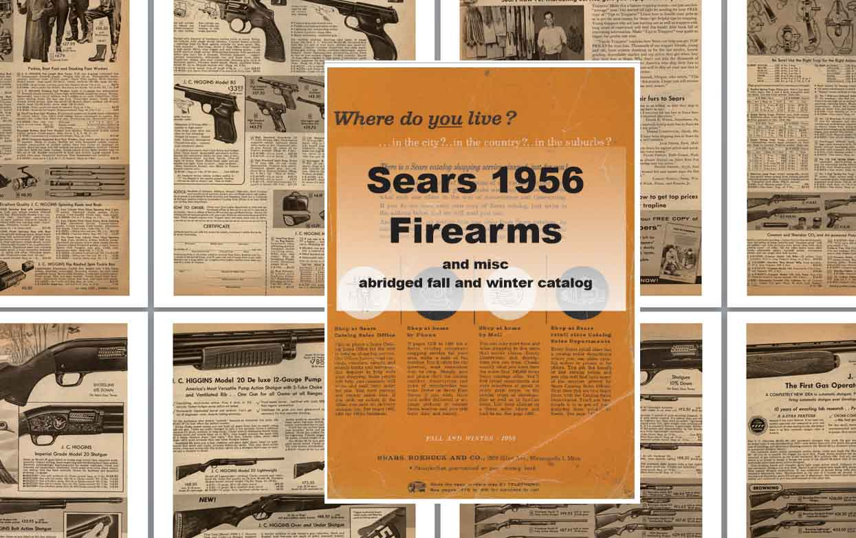 Sears 1956 Guns, Tools, Sports and More