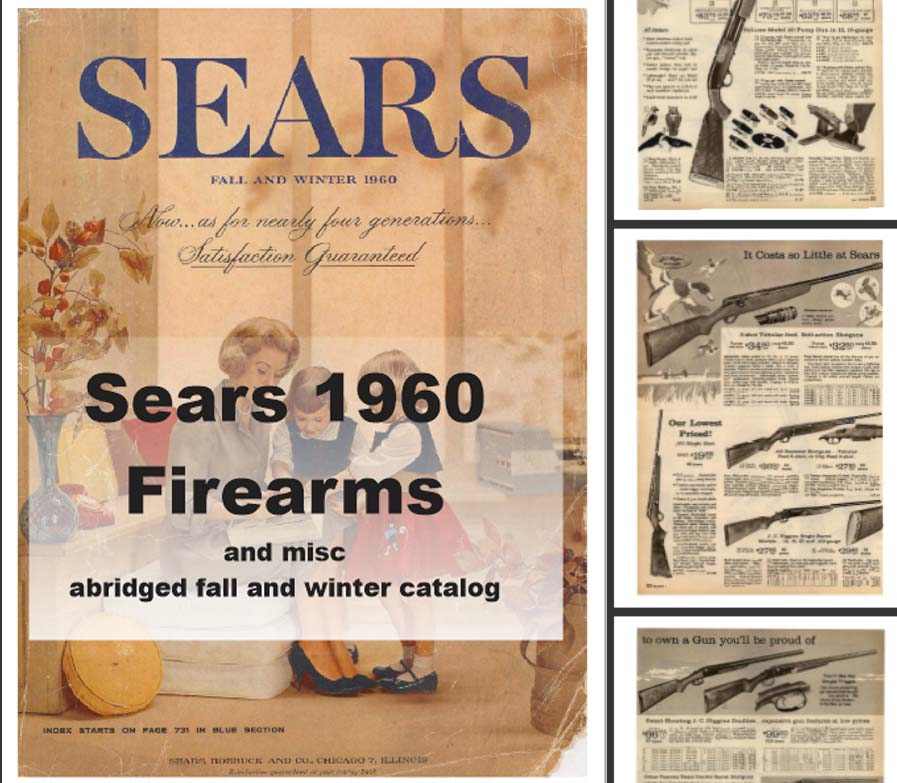 Sears 1960  Guns, Tools, Sports and More