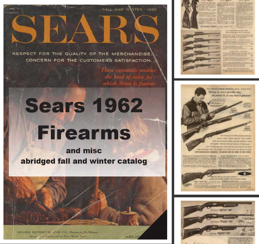 Sears 1962  Guns, Tools, Sports and More