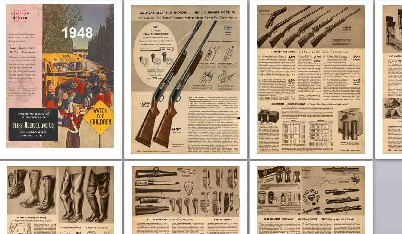 Sears 1948 Fall Guns & Accessories