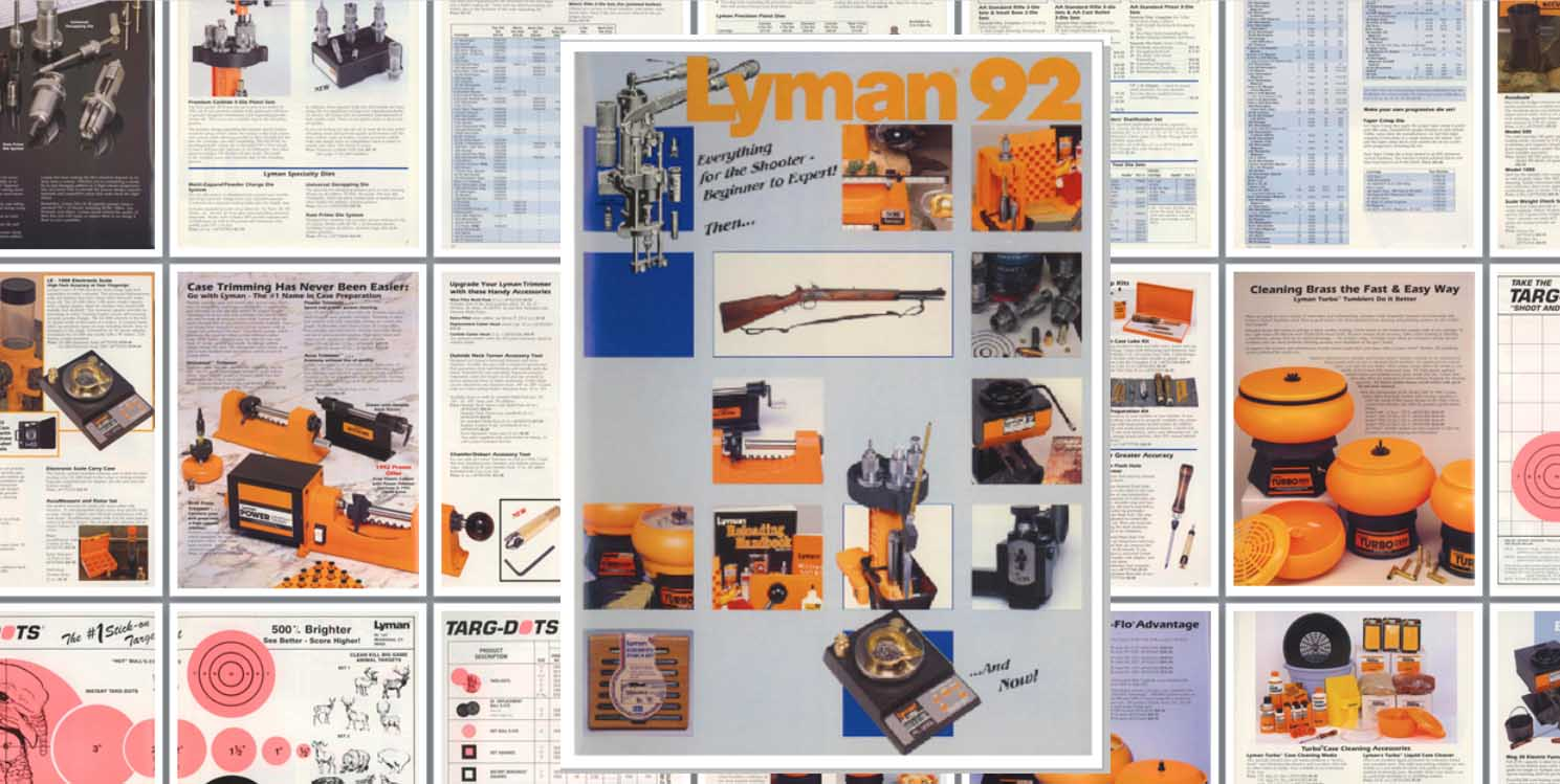 Lyman 1992 Reloading, Sights, Everything Catalog