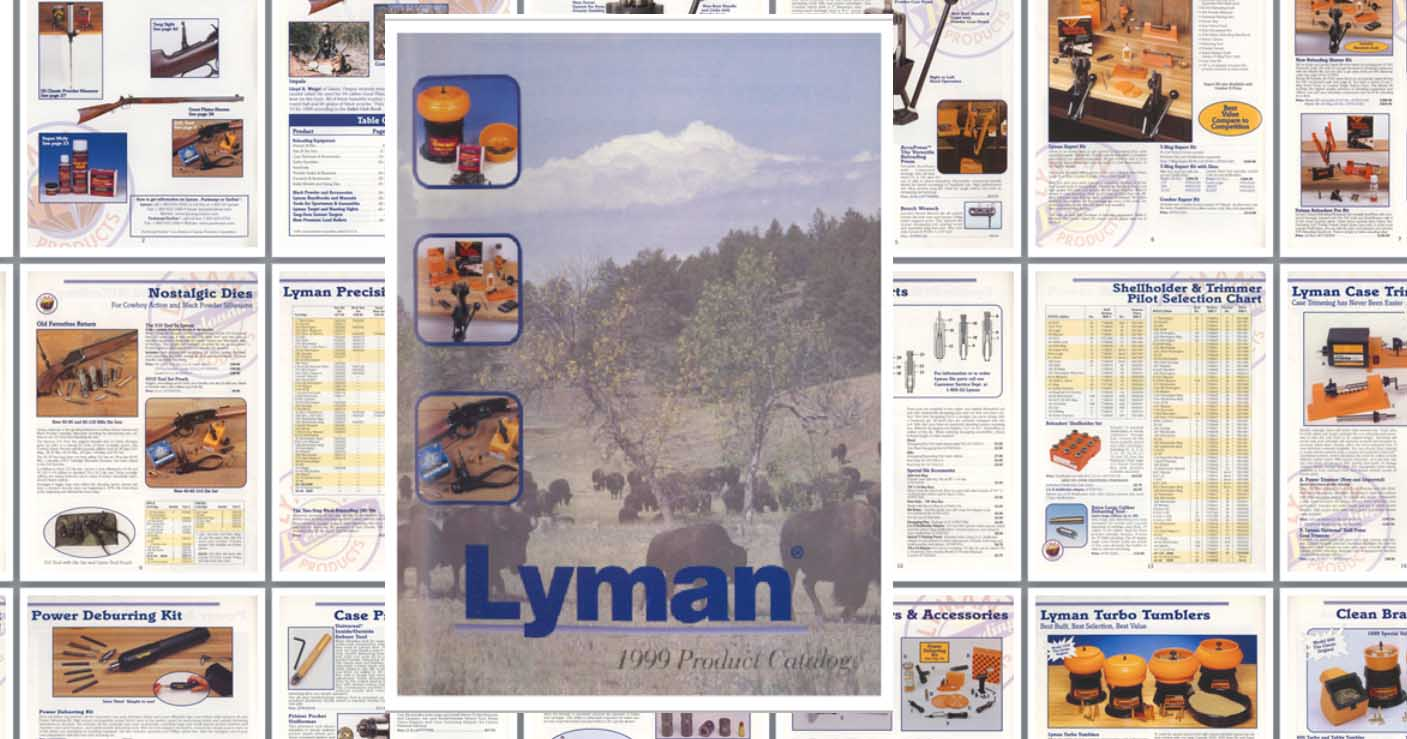 Lyman 1999 Reloading, Sights, Everything Catalog