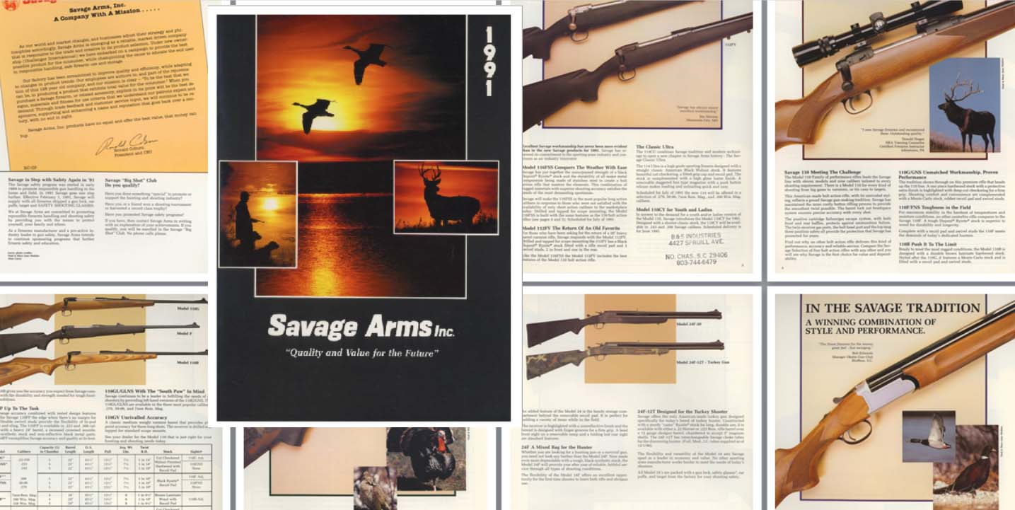 Cornell Publications LLC | Links to Savage Arms Catalog Reprints