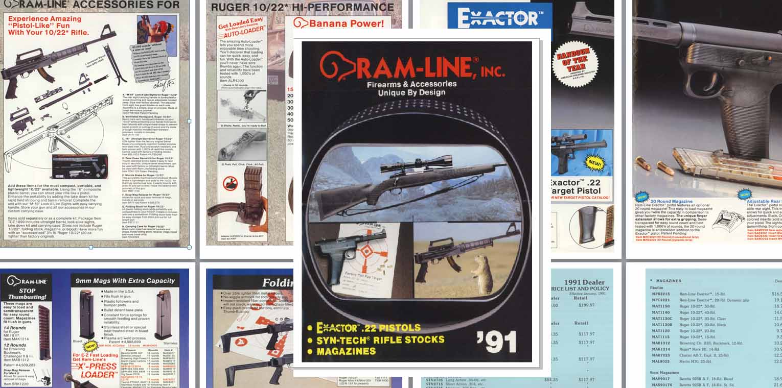 Ram-Line 1991 Firearms and Accessories