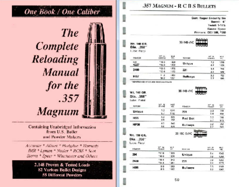 Cornell Publications -The Complete Reloading Guide for the  357