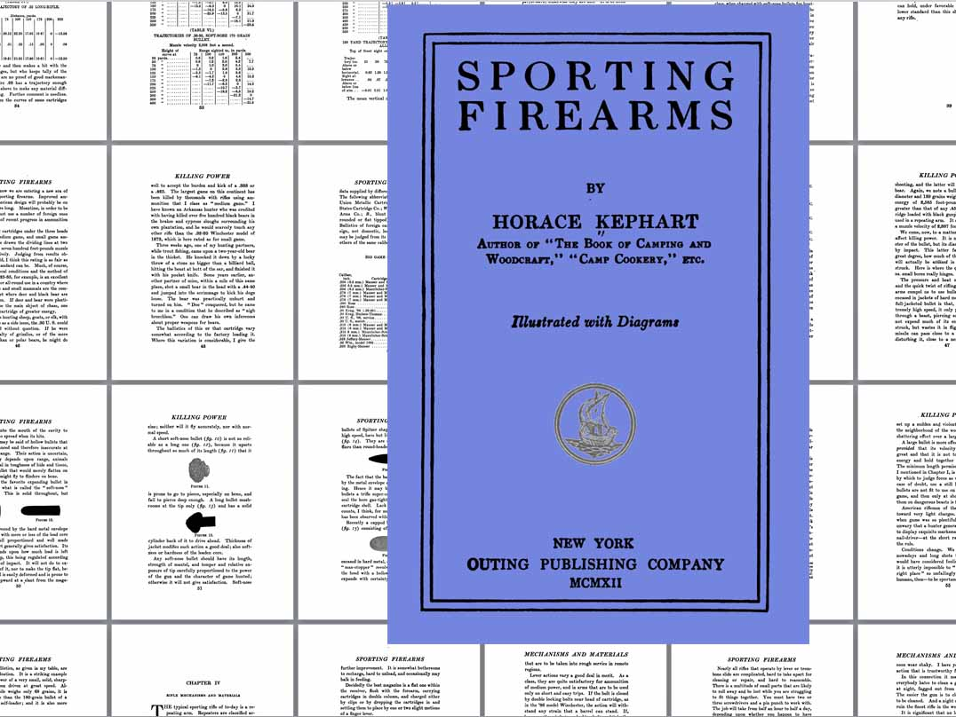 Sporting Firearms 1912 - Horace Kephart