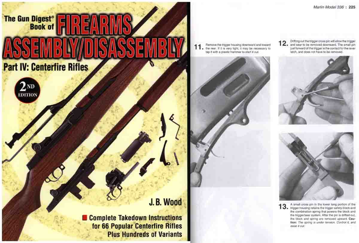 Takedown Book of Firearms Assembly/Disassembly - CF Rifles