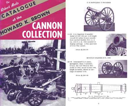 Robert Abels c1962 Cannon Catalog