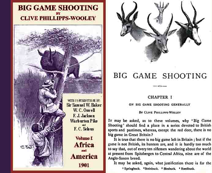 Big Game Shooting - Africa and America 1901