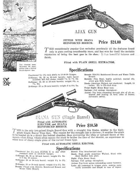Davis (Davis-Warner) 1926 Gun Catalog - Picture 1