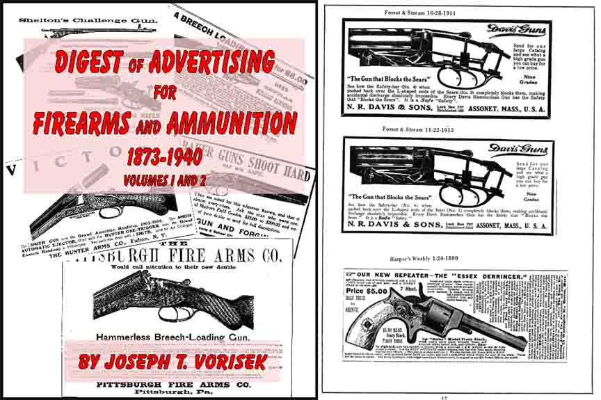 Digest of Advertising for Firearms and Ammunition 1873-1940