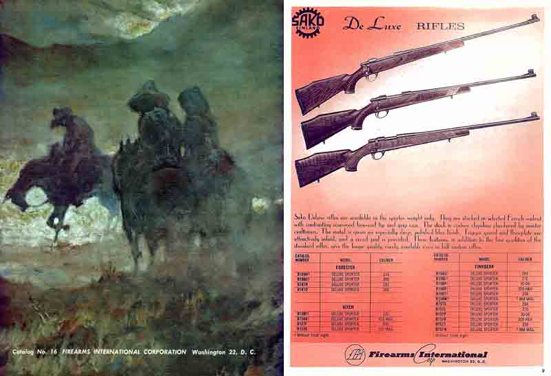 Firearms International 1964 Gun Catalog