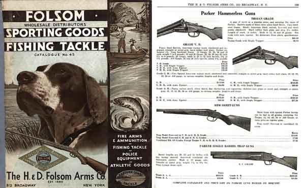 H & D Folsom 1936 Arms Company Catalogue No. 45