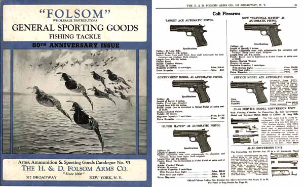 H & D Folsom 1940 Arms Company Catalogue No. 53