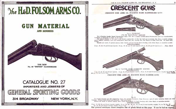 H & D Folsom 1929 Gun Materials Catalog