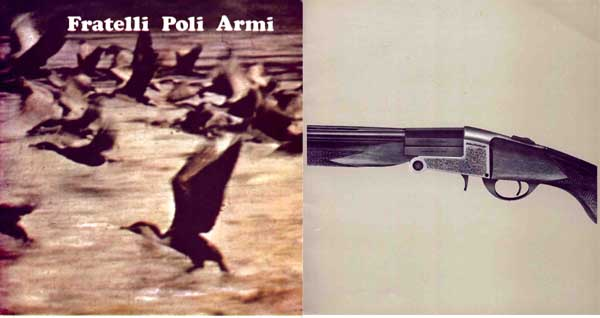 Fratelli Poli Armi 1970 Gun Catalog