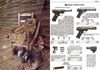 EM George Firearms Company, Louisville, KY 1978-79 Gun Catalog
