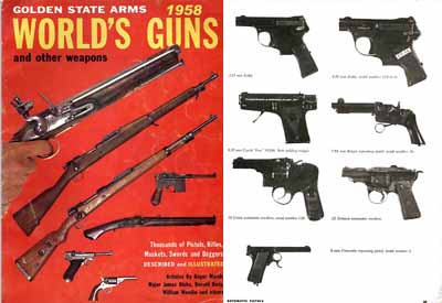 Golden State Arms Co. 1958 Collectors Gun Catalog (CA)