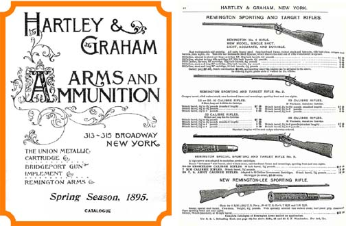 Hartley & Graham 1895 Gun Catalog (New York)