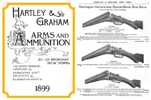 Hartley & Graham c1899 Gun Catalog (New York)