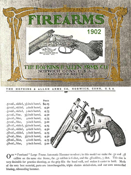 Hopkins & Allen 1902 Gun Catalog
