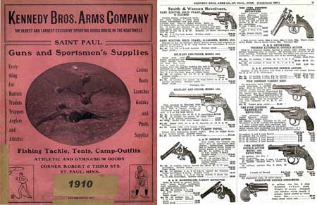 Kennedy Bros (St. Paul) Hunting & Fishing 1910 Catalog