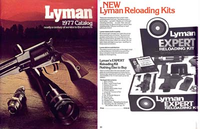 Lyman 1977 Gun Sight and Accessory Catalog