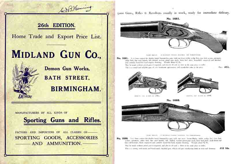 Midland Sporting Guns 26th ed - 1914 Catalogue