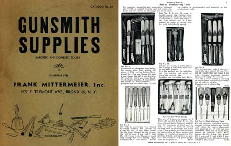 Frank Mitermeier Gunsmith Tools 1964