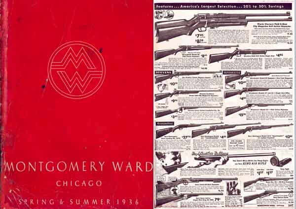 Montgomery Ward 1936 Guns Catalog