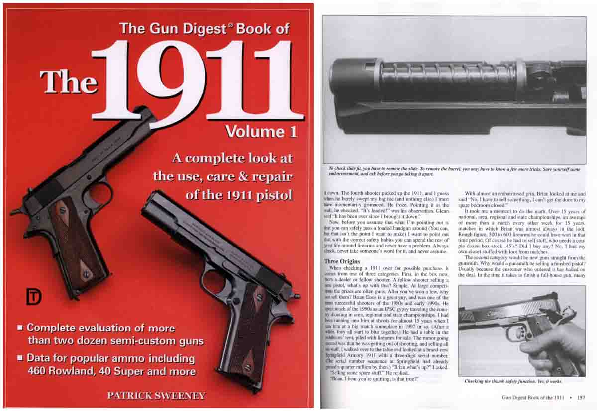 Gun Digest - Book of the 1911- Volume 1