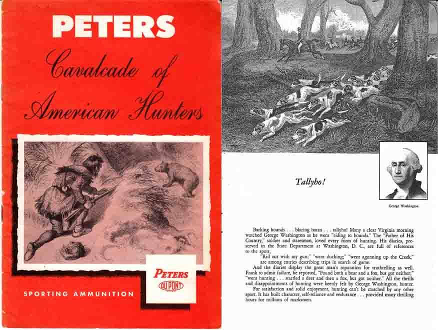 Peters c1935 Ammunition- Cavalcade of American Hunters