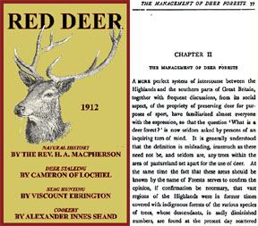 Red Deer by Rev. H. A. Macpherson - 1912