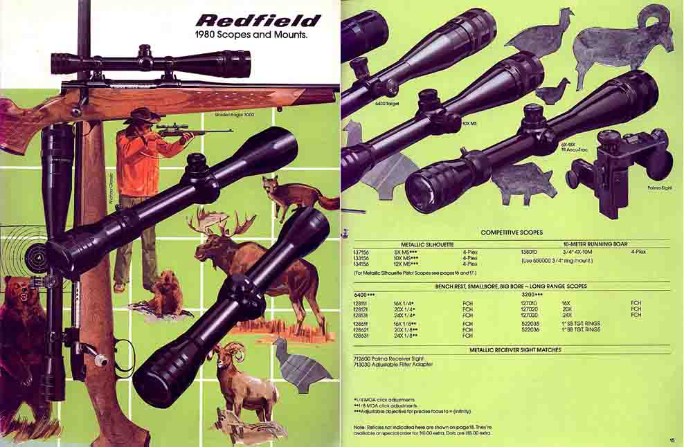 Redfield 1980 Sights Catalog (Denver, CO)