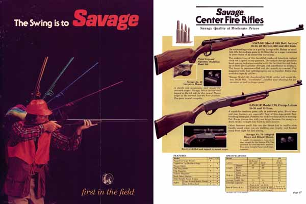 Savage 1980 Gun Catalog