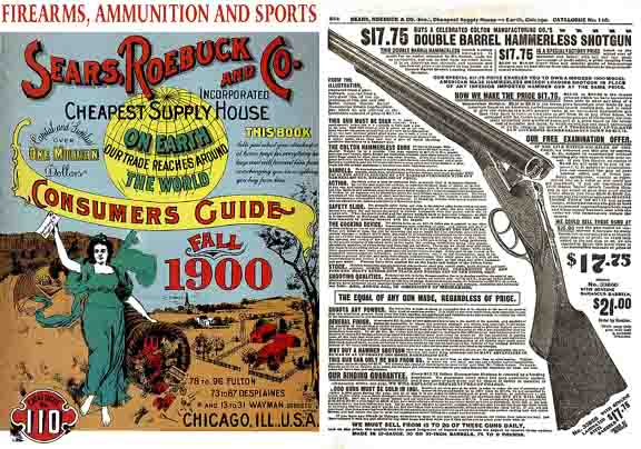 Sears, Roebuck & Co. 1900 Gun & Sport Catalog