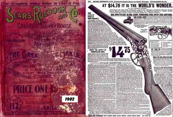Sears, Roebuck & Co. 1901 Catalog (Gun Section)
