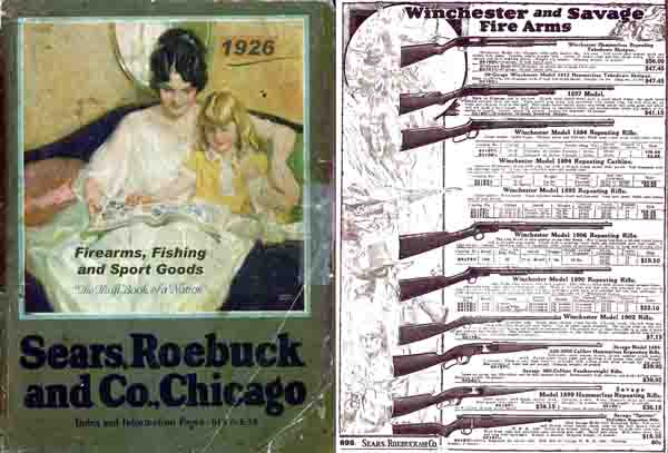 Sears, Roebuck & Co. 1926 Catalog (Gun Section)