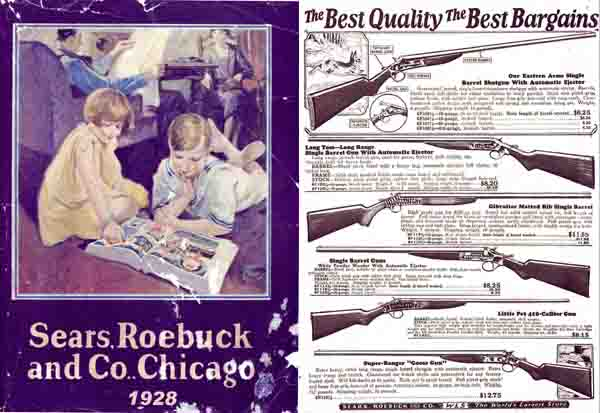 Sears, Roebuck & Co. 1928 Catalog (Gun Section)