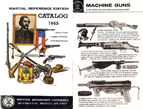 Service Arms 1963 Gun Catalog