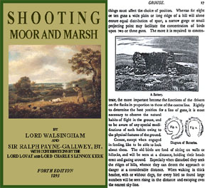 Shooting Moor and Marsh 1893 Lord Walsingham