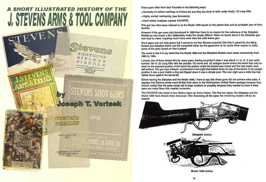 Stevens Arms Company History by Joe Vorisek
