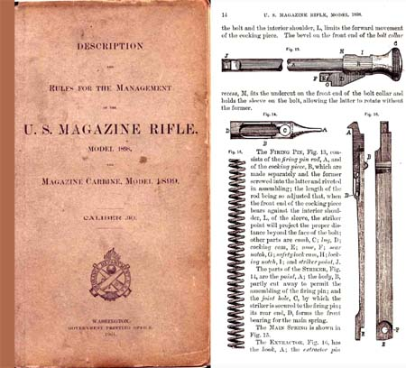 U.S. Magazine Rifle & Carbine Model 1898 & 1899 Krag Manual (1901 edition)