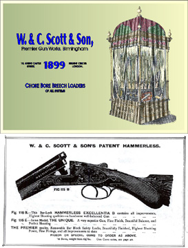 W & C Scott & Son 1899 Gun Catalog