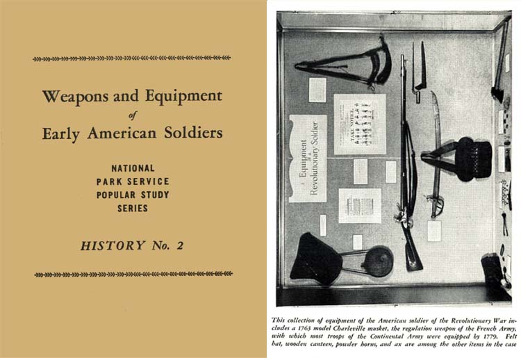 Weapons and Equipment of Early American Soldiers 1947