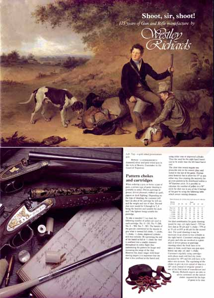 Westley Richards & Co. 1986 Gun Catalog