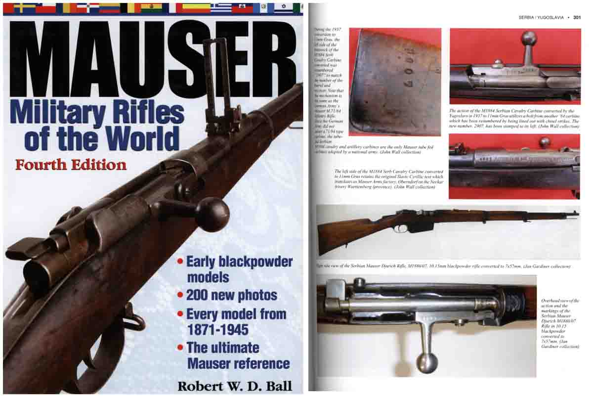 Mauser Military Rifles of the World 4th Edition by Gun Digest